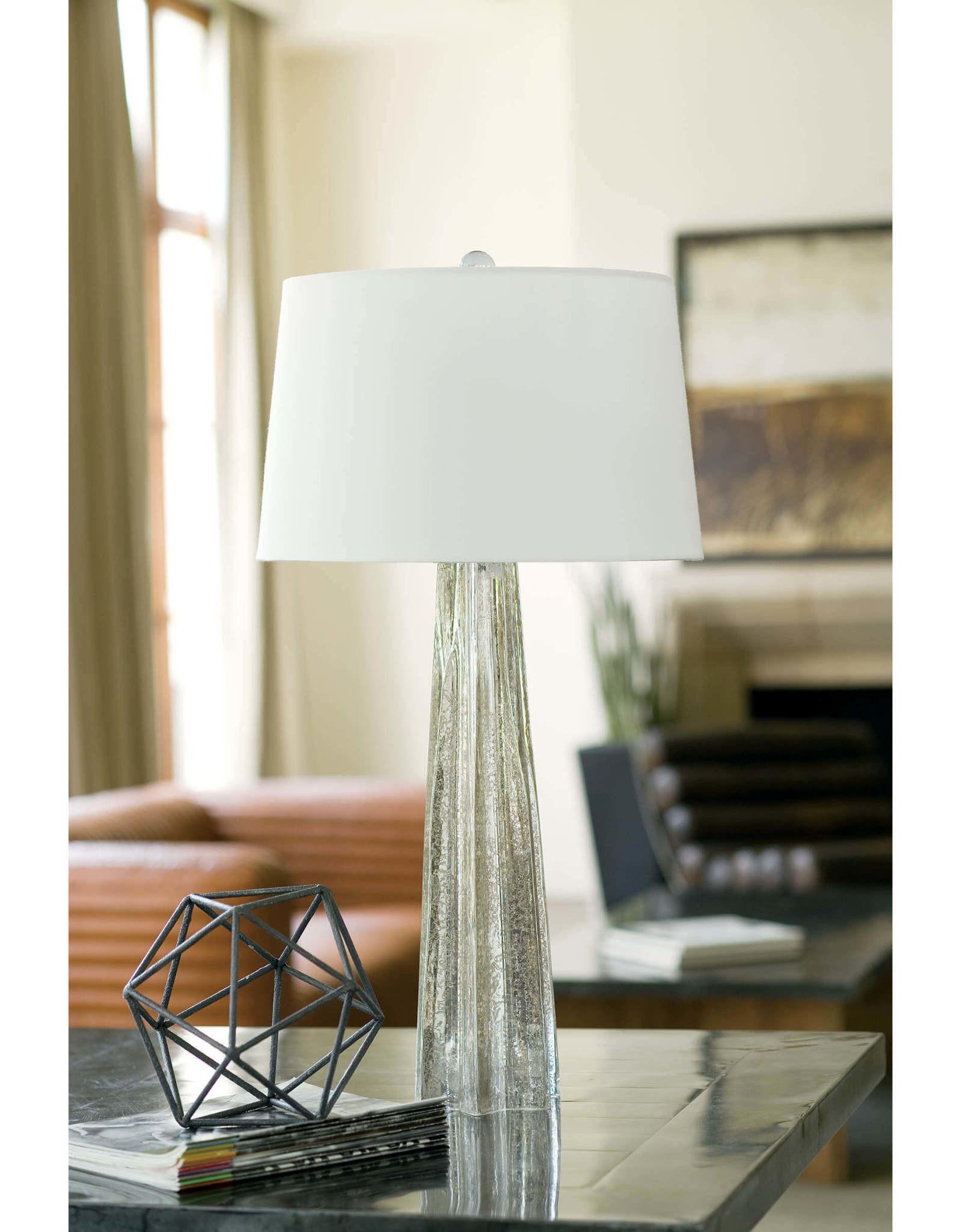 Regina Andrew Design Glass Star Table Lamp (Antique Mercury)