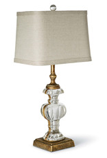 Regina Andrew Design Parisian Glass Table Lamp (Antique Gold Leaf)
