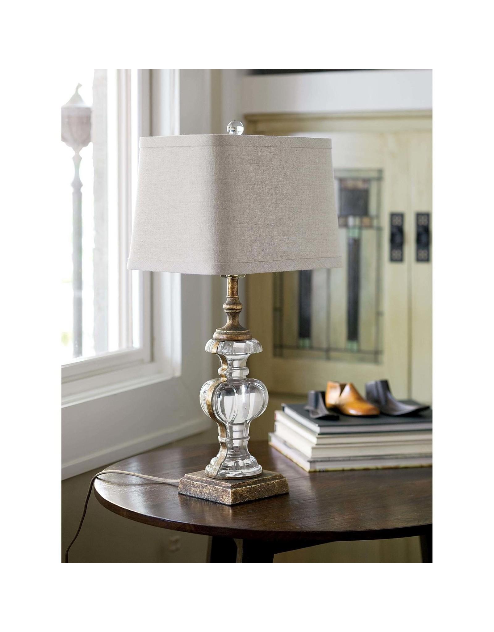 Regina Andrew Design Parisian Glass Table Lamp (Antique Gold Leaf)