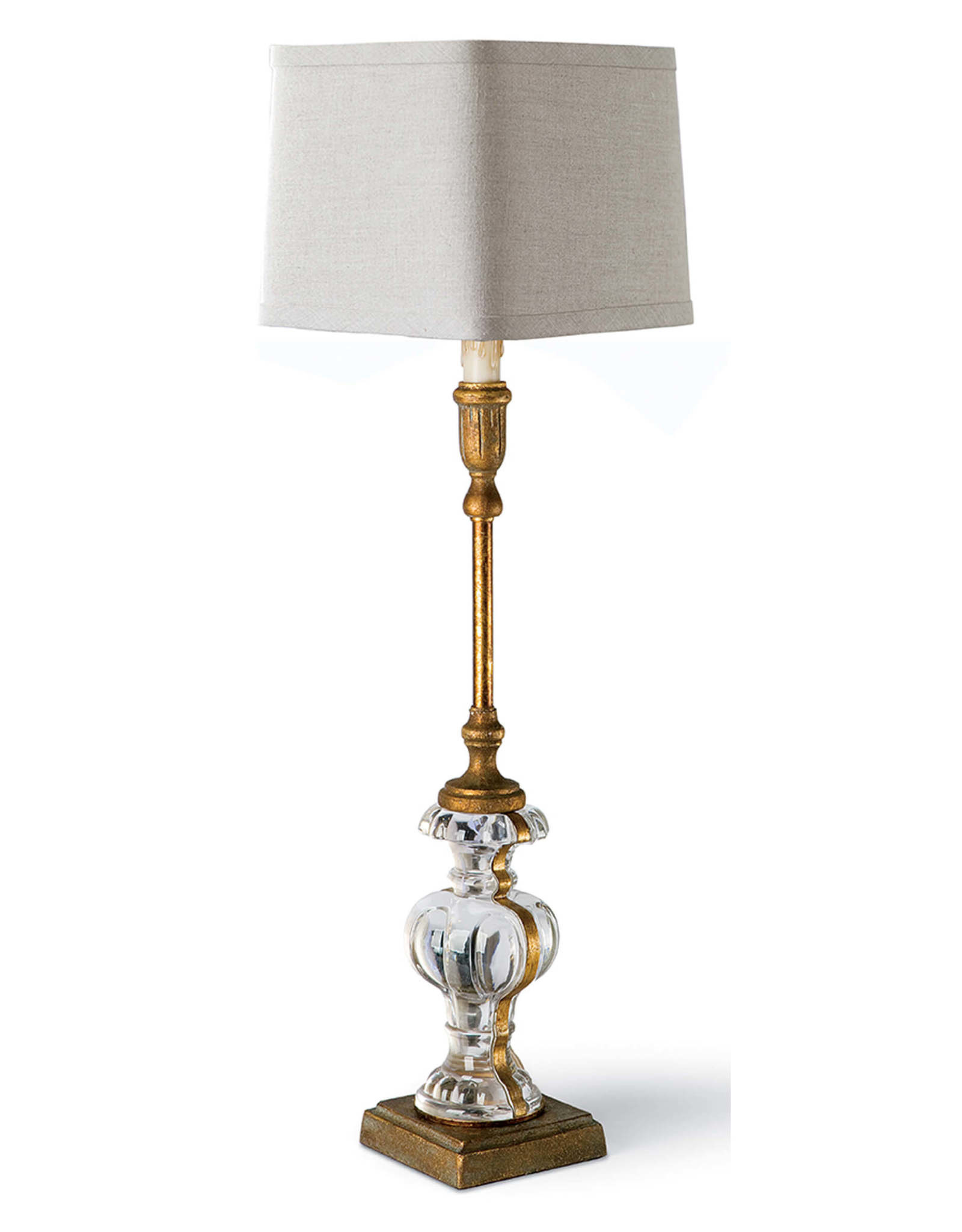 Regina Andrew Design Parisian Glass Buffet Table Lamp (Antique Gold Leaf)