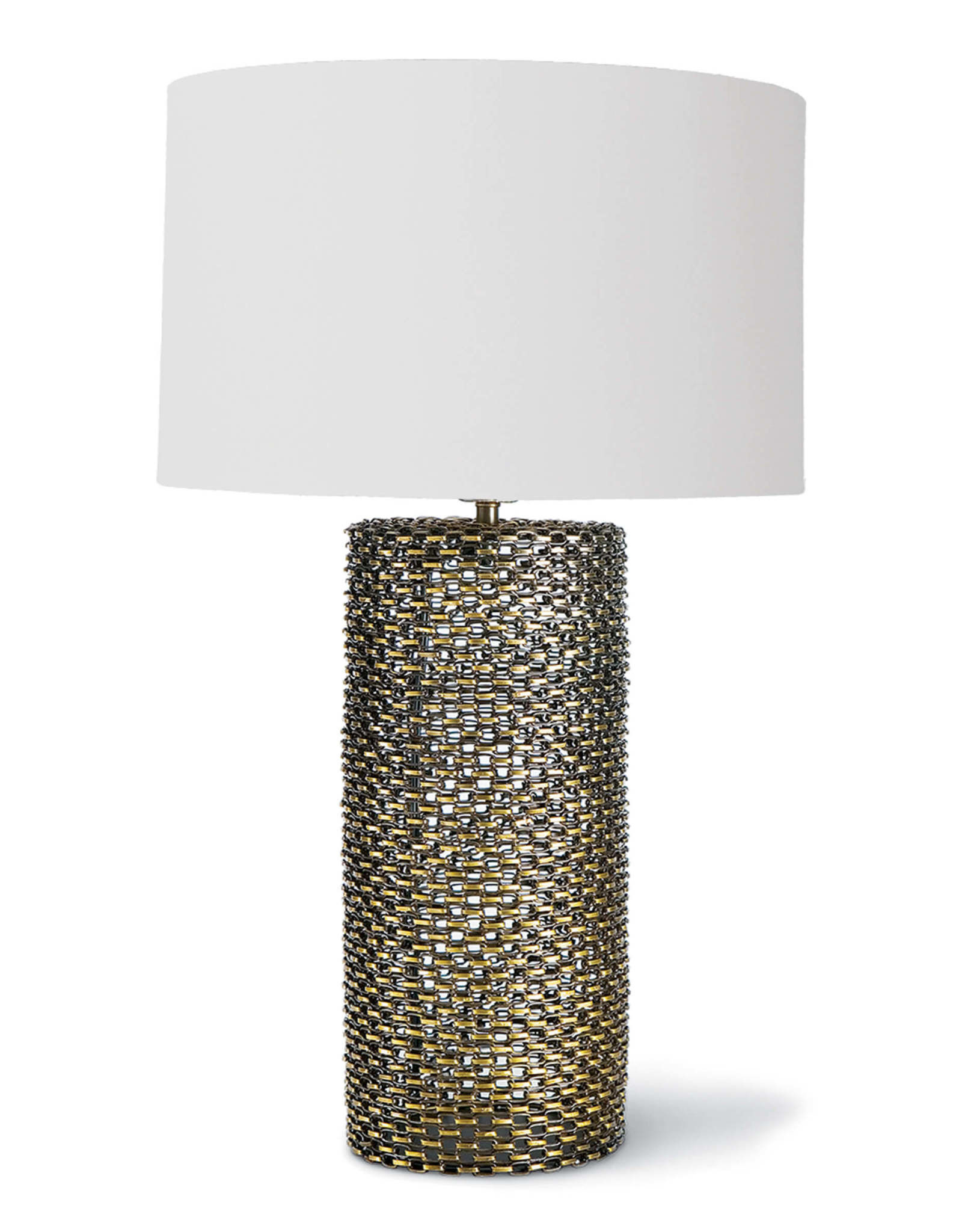 Regina Andrew Design Chain Link Table Lamp (Antique Brass)
