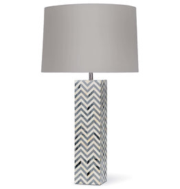 Regina Andrew Design Chevron Table Lamp (Grey)