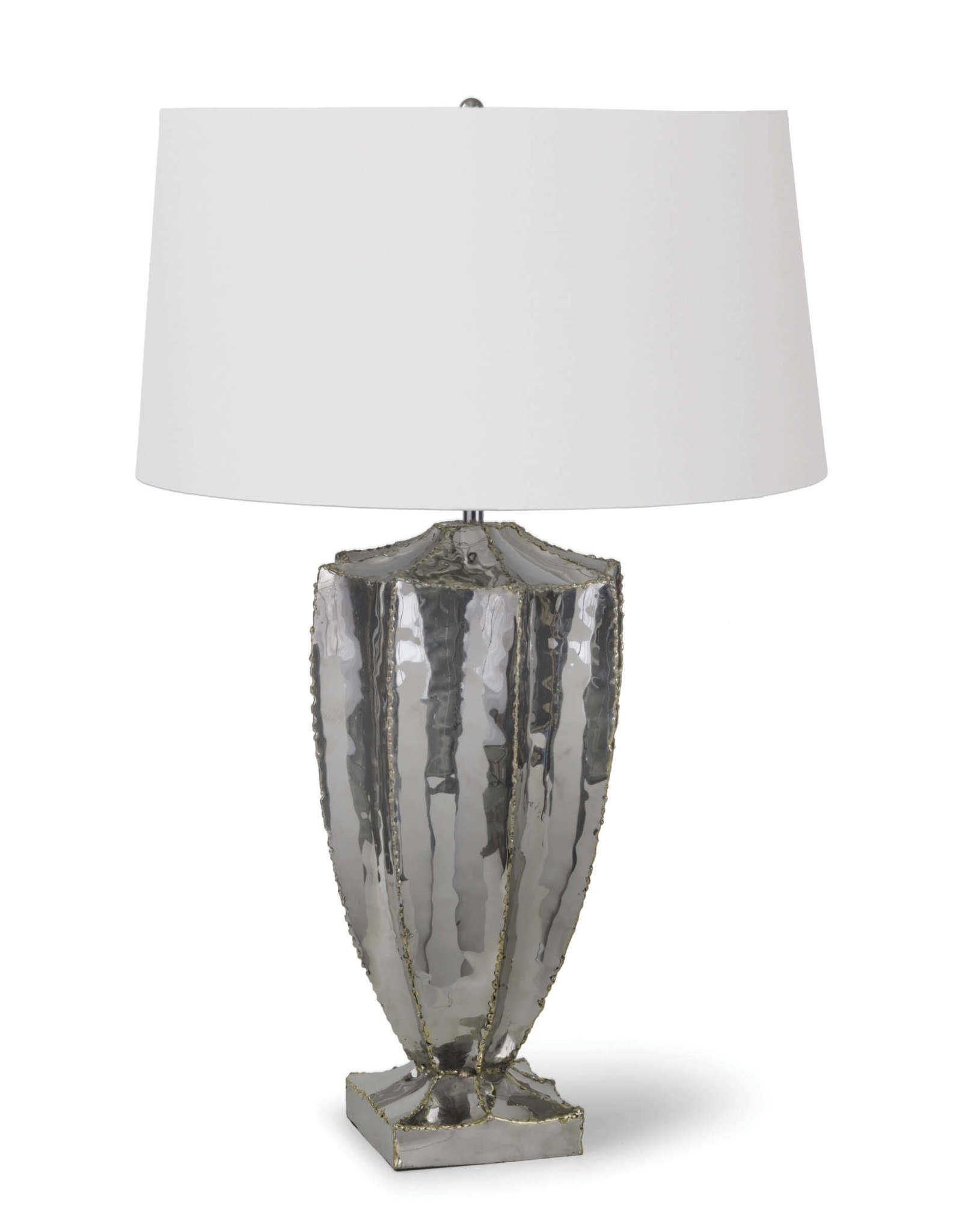 Regina Andrew Design Blaze Table Lamp (Nickel)