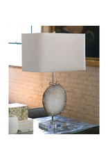 Regina Andrew Design Exhibit Table Lamp (Nickel & Natural Agate)