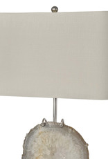 Regina Andrew Design Exhibit Table Lamp (Nickel & Natural Agate)