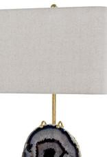 Regina Andrew Design Exhibit Table Lamp (Gold & Smoke Agate)