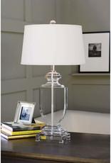 Regina Andrew Design Crystal Flat Urn Table Lamp