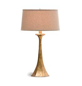 Regina Andrew Design Tapered Hex Column Table Lamp (Antique Gold Leaf)