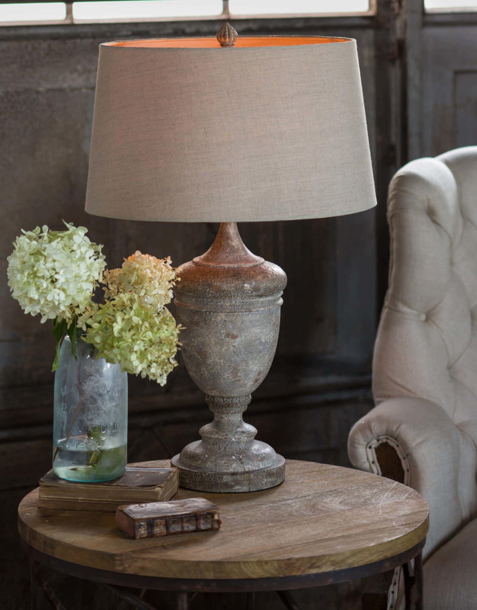 Regina Andrew Design Gesso Vase Table Lamp
