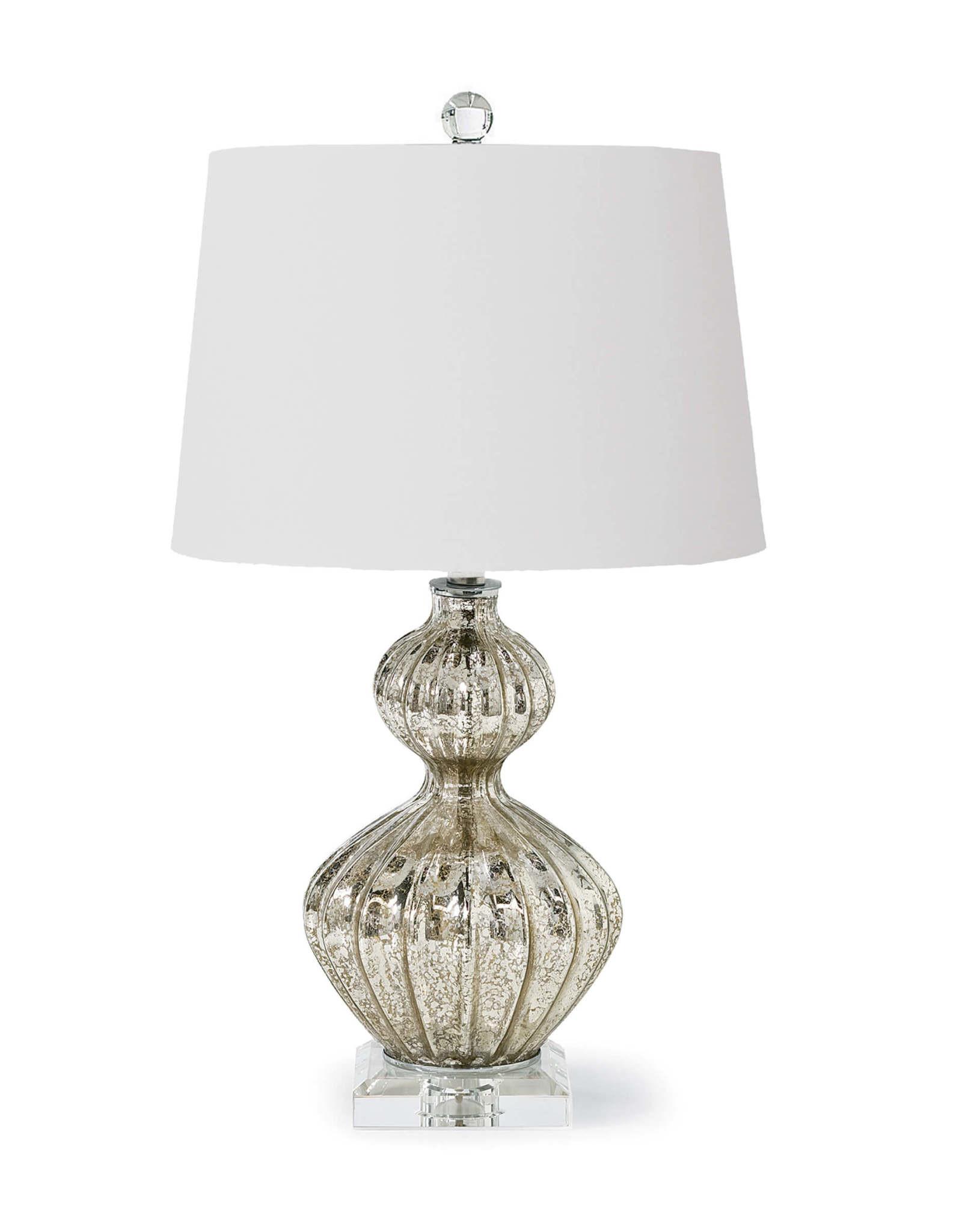 Regina Andrew Design Ripple Table Lamp (Antique Mercury)