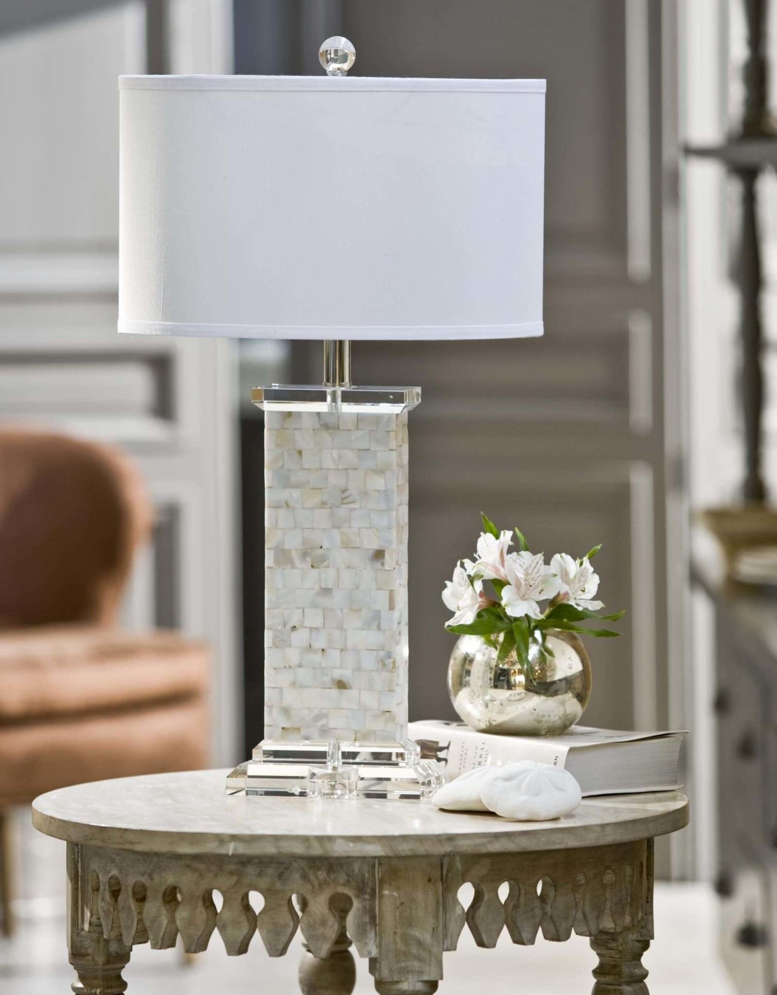 Regina Andrew Design Brook Mother of Pearl Table Lamp