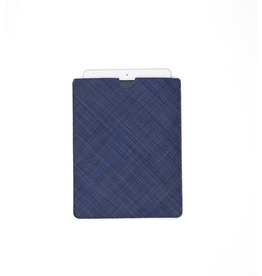 Chilewich Mini Basketweave Tablet Sleeve Medium, INDIGO