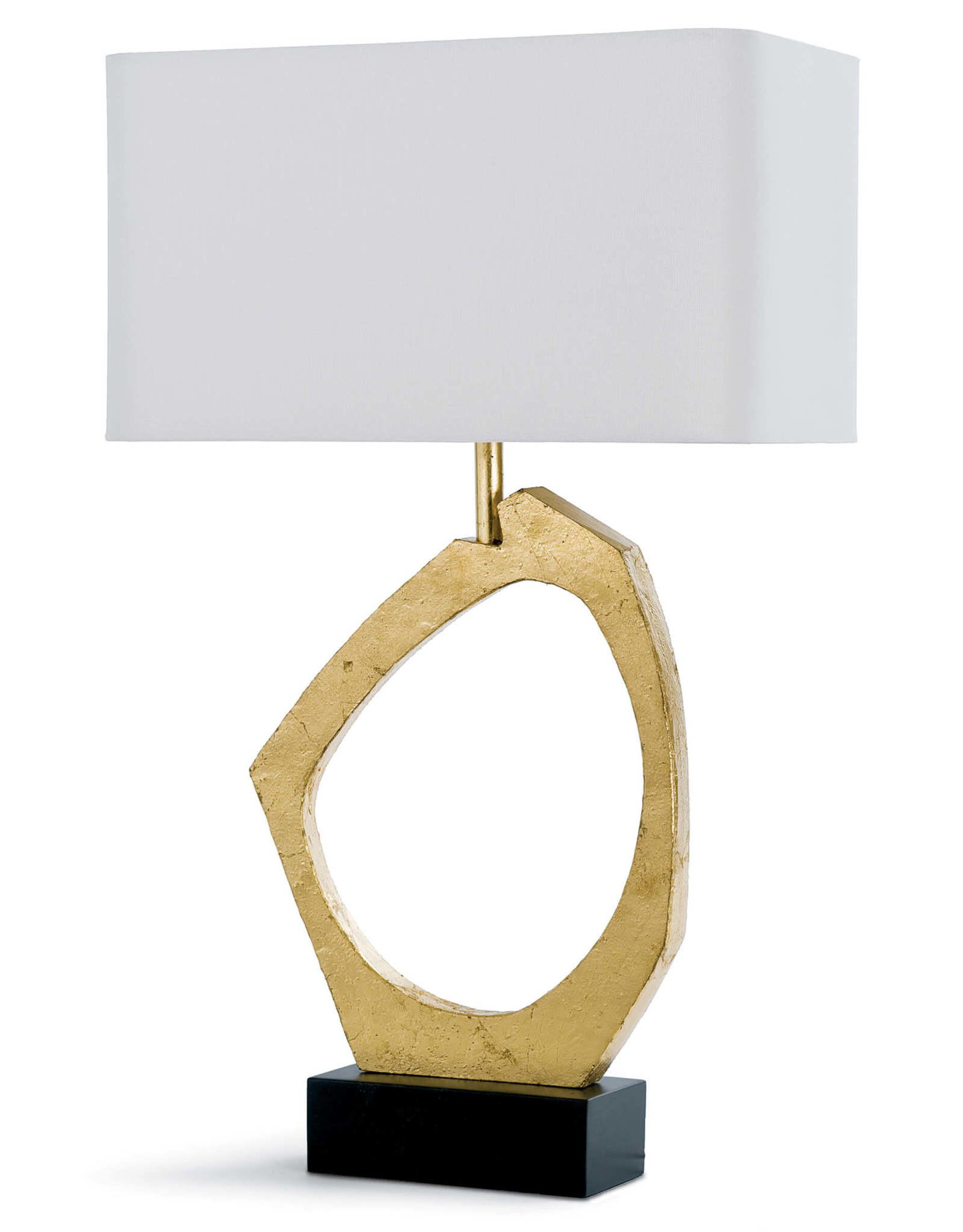 Regina Andrew Design Manhattan Table Lamp (Gold Leaf)