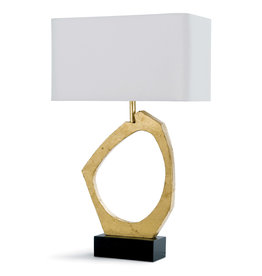 Regina Andrew Design Manhattan Table Lamp (Gold Leaf)