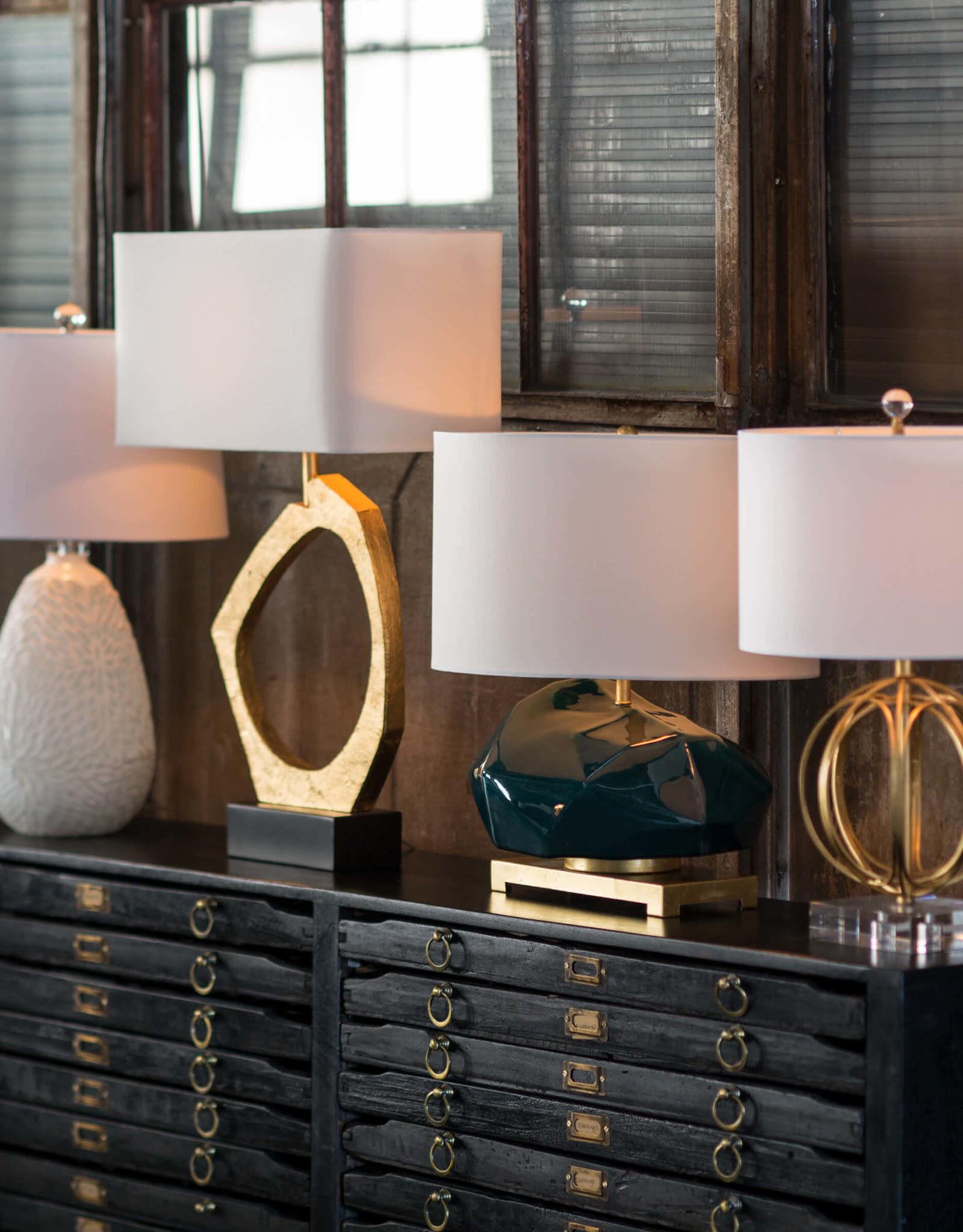 Regina Andrew Design Ofelia Table Lamp (Gold Leaf)