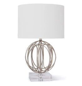 Regina Andrew Design Ofelia Table Lamp (Silver Leaf)