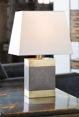 Regina Andrew Design Elliot Ceramic Shagreen Table Lamp