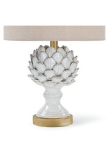 Regina Andrew Design Leafy Artichoke Ceramic Table Lamp (Off White)