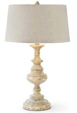 Regina Andrew Design Gesso Wood Table Lamp