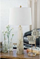Regina Andrew Design Quatrefoil Alabaster Table Lamp Small