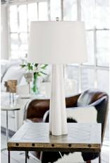 Regina Andrew Design Quatrefoil Alabaster Table Lamp Large