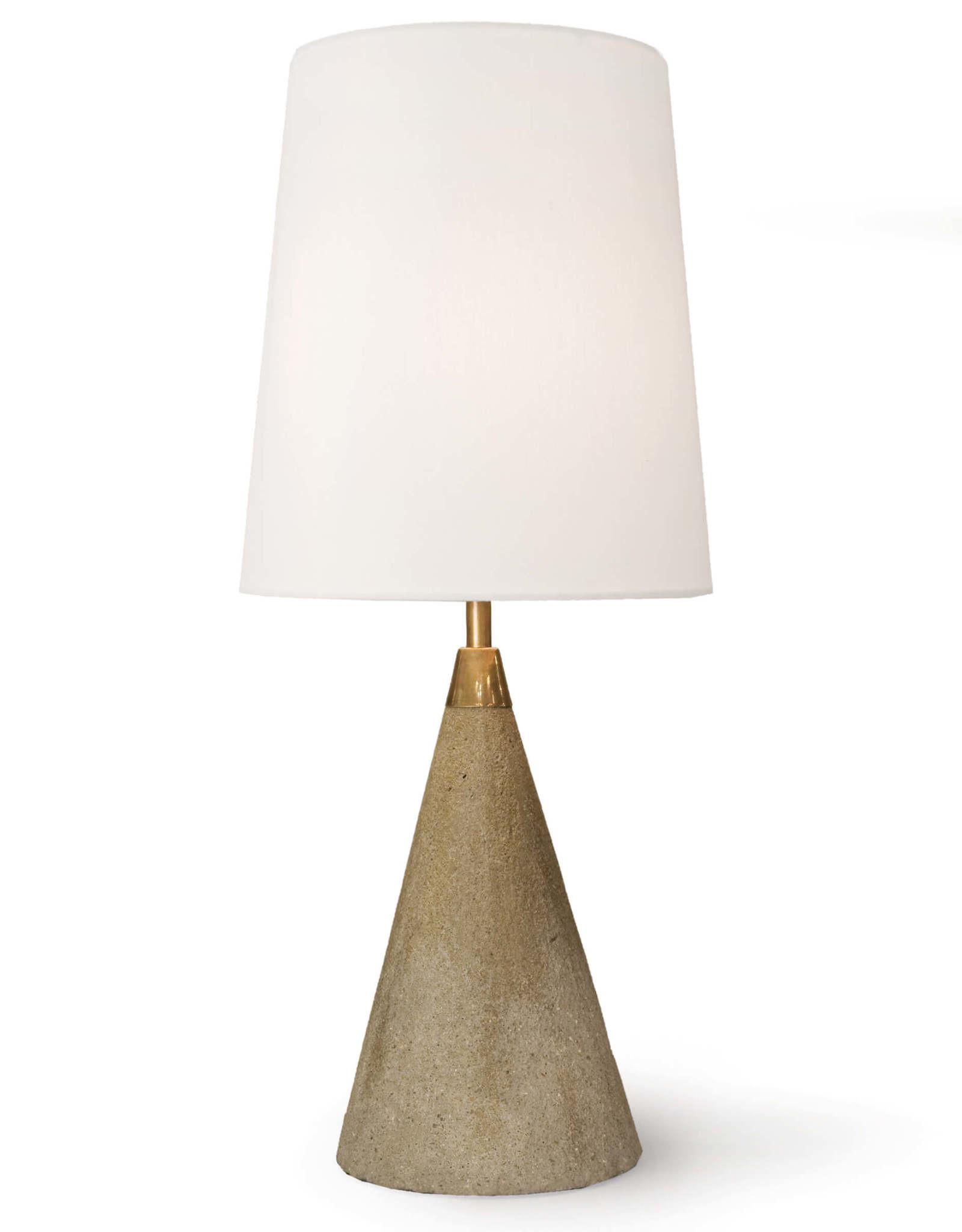 Regina Andrew Design Concrete Mini Cone Lamp