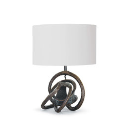Knot Table Lamp (Bronze)