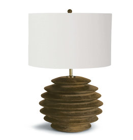 Regina Andrew Design Accordion Table Lamp Round (Natural)