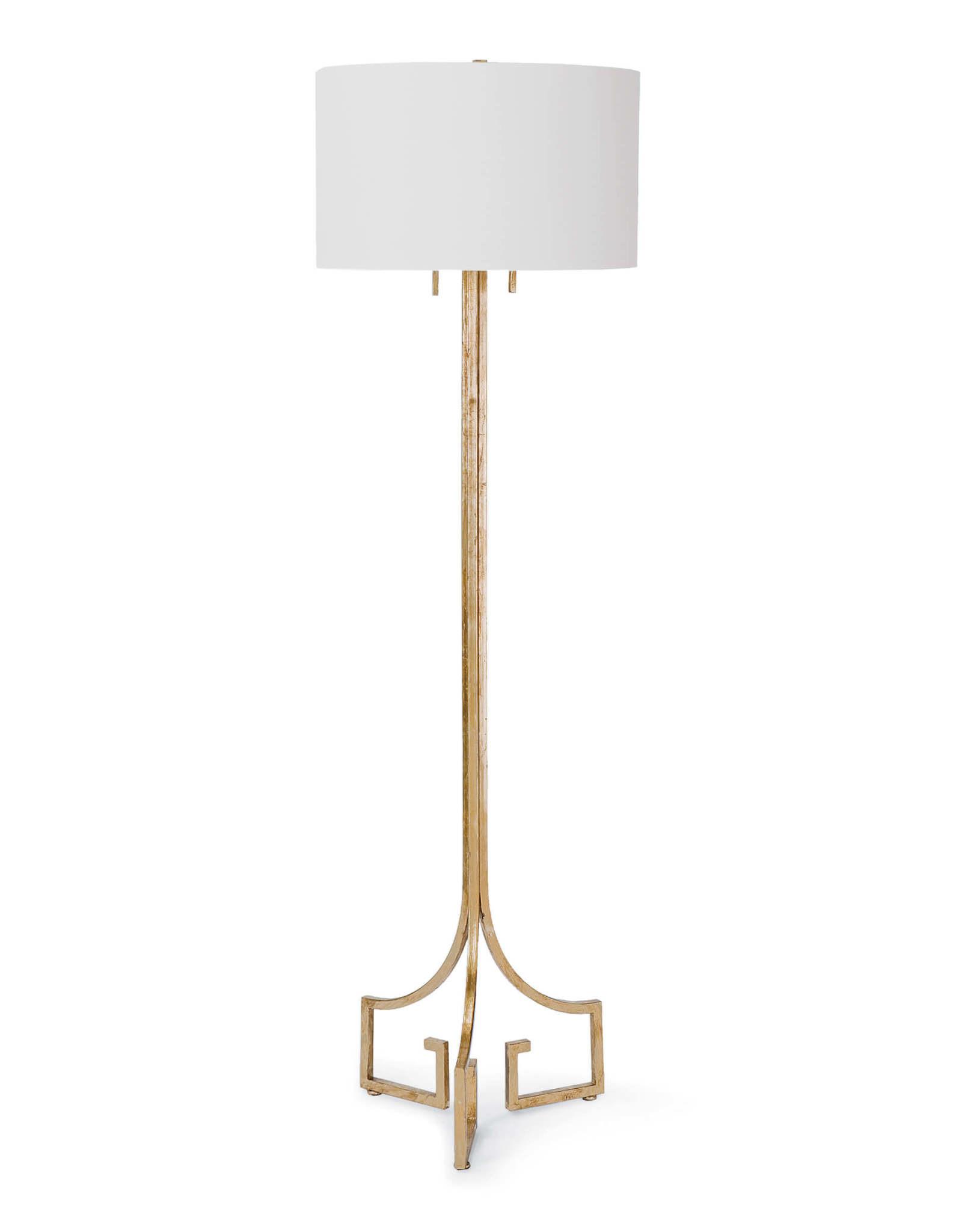 Regina Andrew Design Le Chic Floor Lamp (Antique Gold Leaf)
