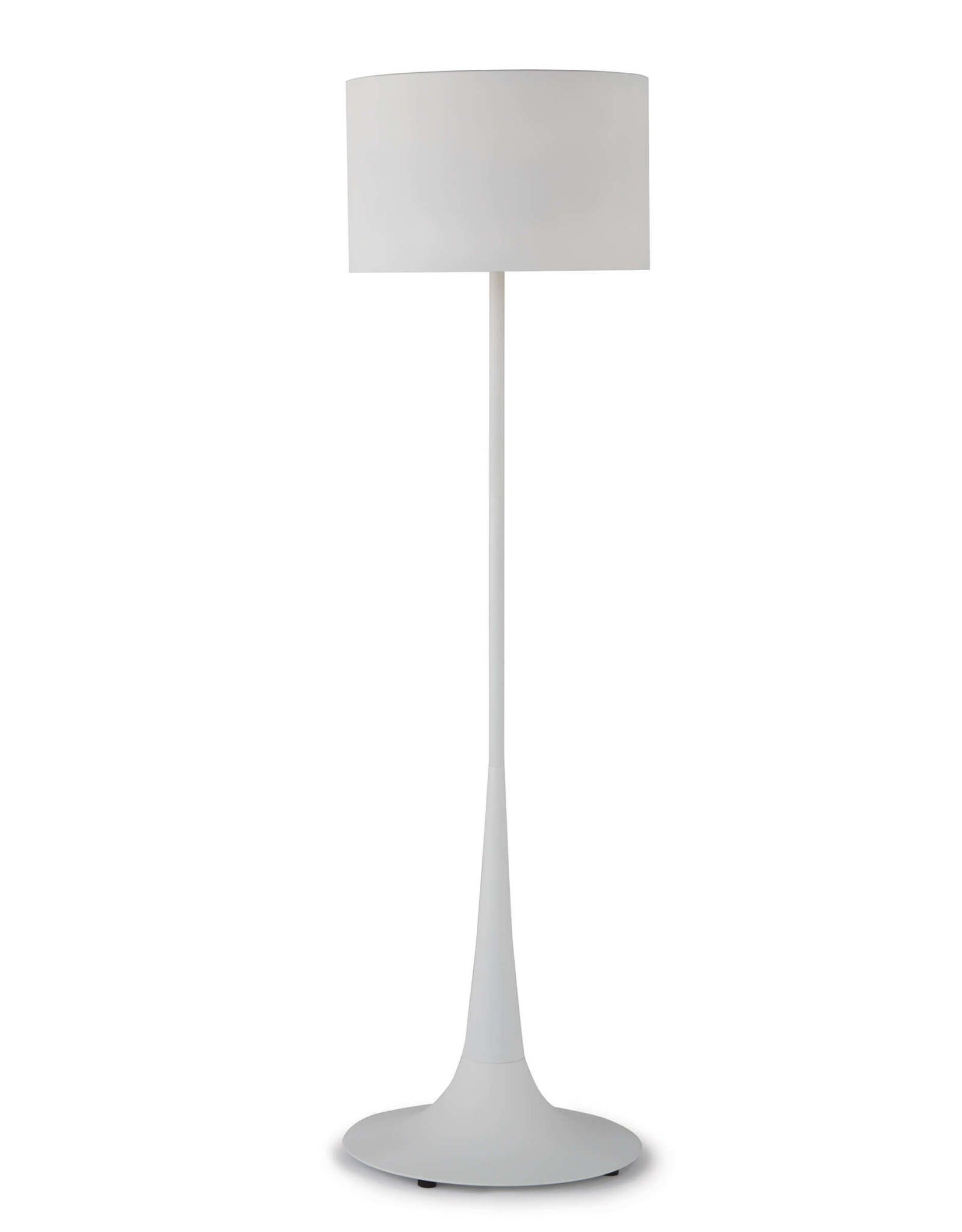 Regina Andrew Design Trilogy Floor Lamp (White Iron)