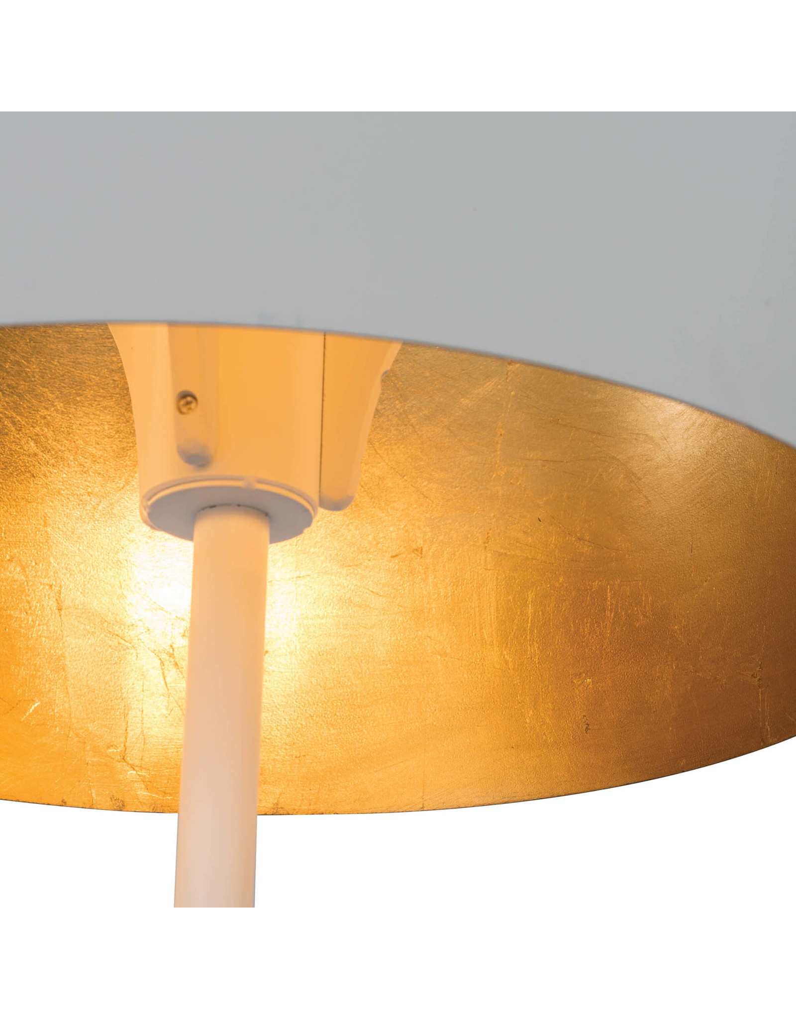 Regina Andrew Design Trilogy Floor Lamp (White Iron)