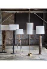 Regina Andrew Design Brigitte Floor Lamp (Natural Brass)