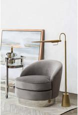Regina Andrew Design Raven Floor Lamp (Natural Brass)