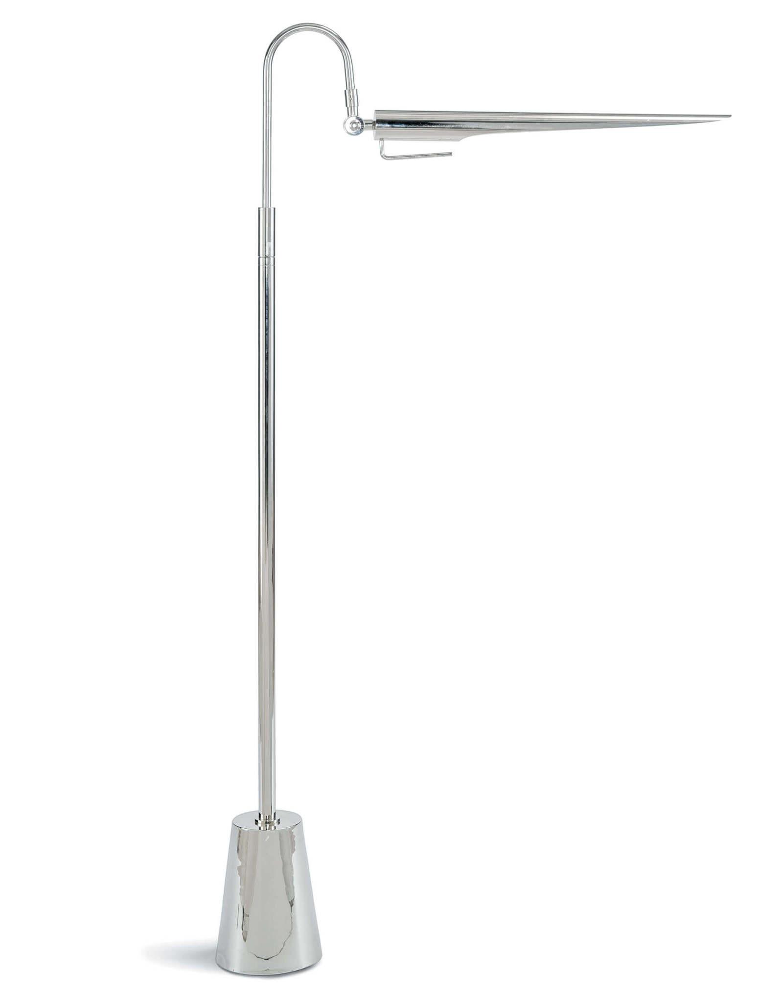 Regina Andrew Design Raven Floor Lamp (Polished Nickel)