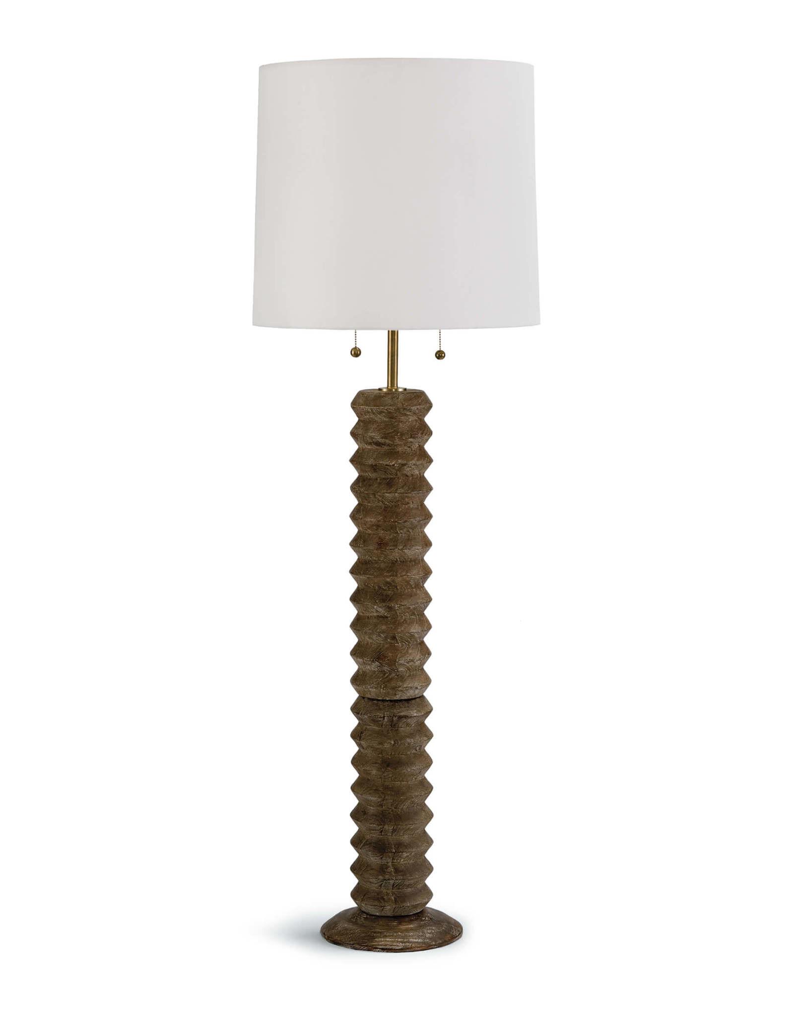 Regina Andrew Design Accordion Floor Lamp (Natural)