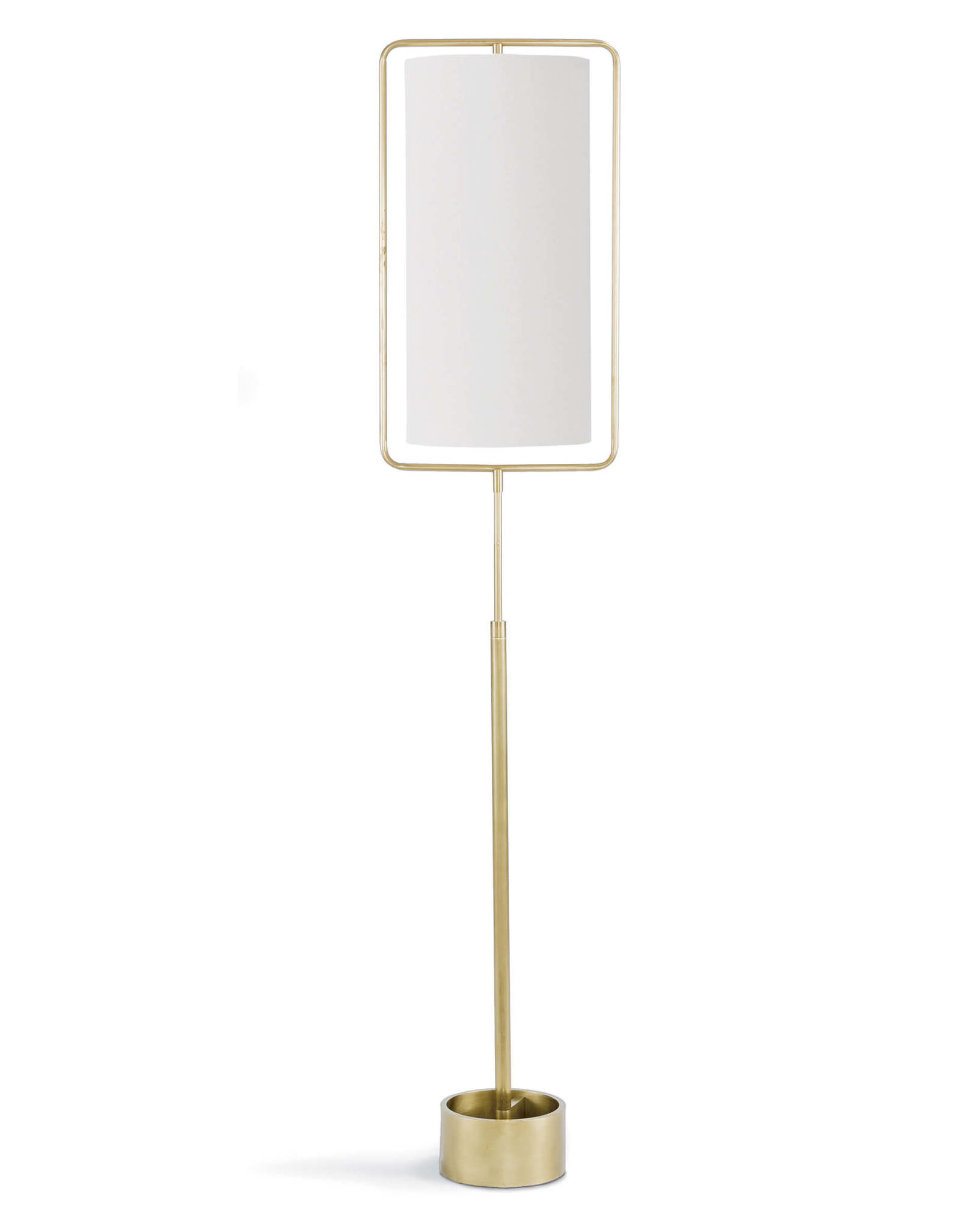 Regina Andrew Design Geo Rectangle Floor Lamp (Natural Brass)