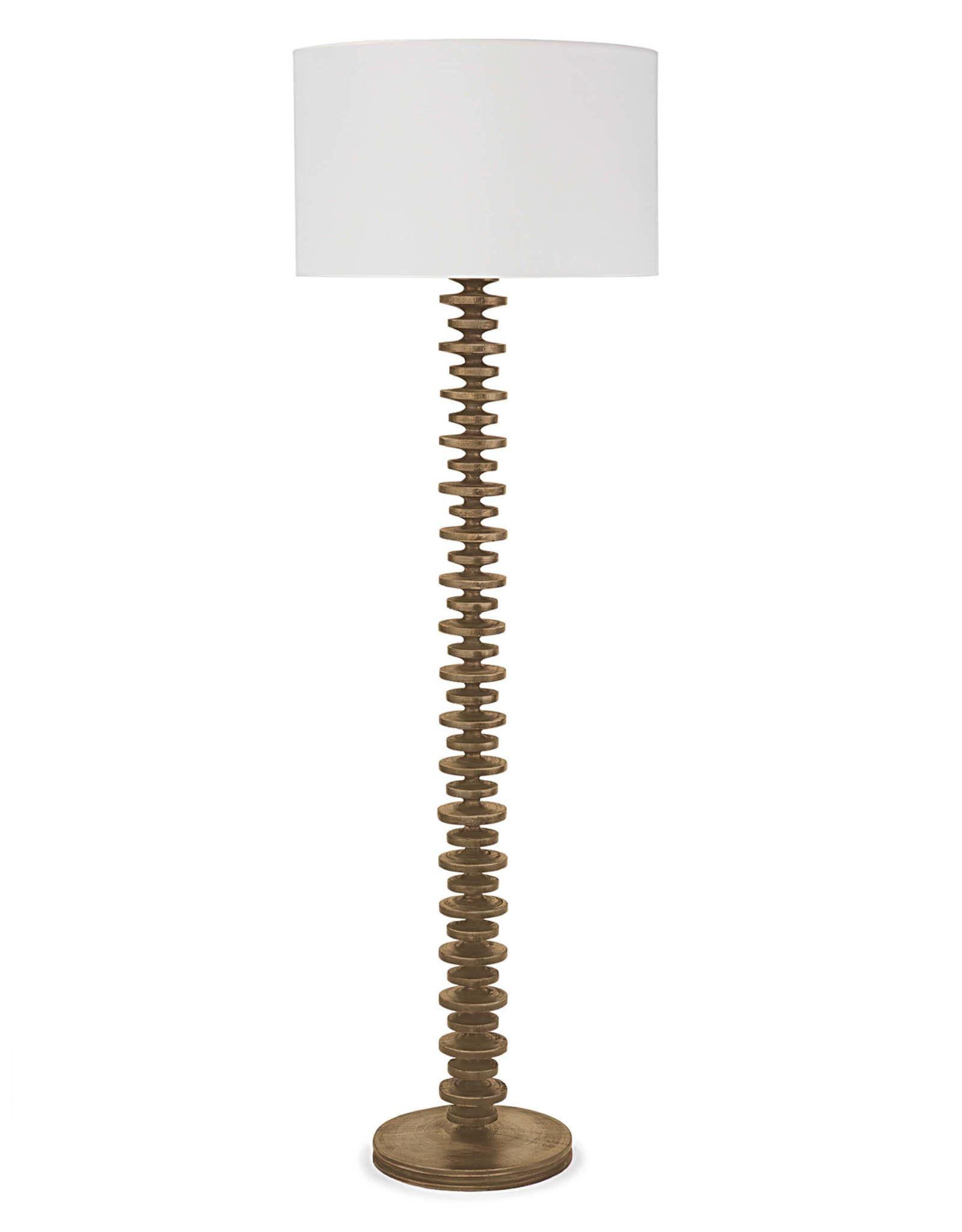 Regina Andrew Design Fishbone Floor Lamp (Natural)