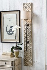Regina Andrew Design Carved Panel Sconce