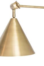 Regina Andrew Design Zig-Zag Task Sconce (Natural Brass)