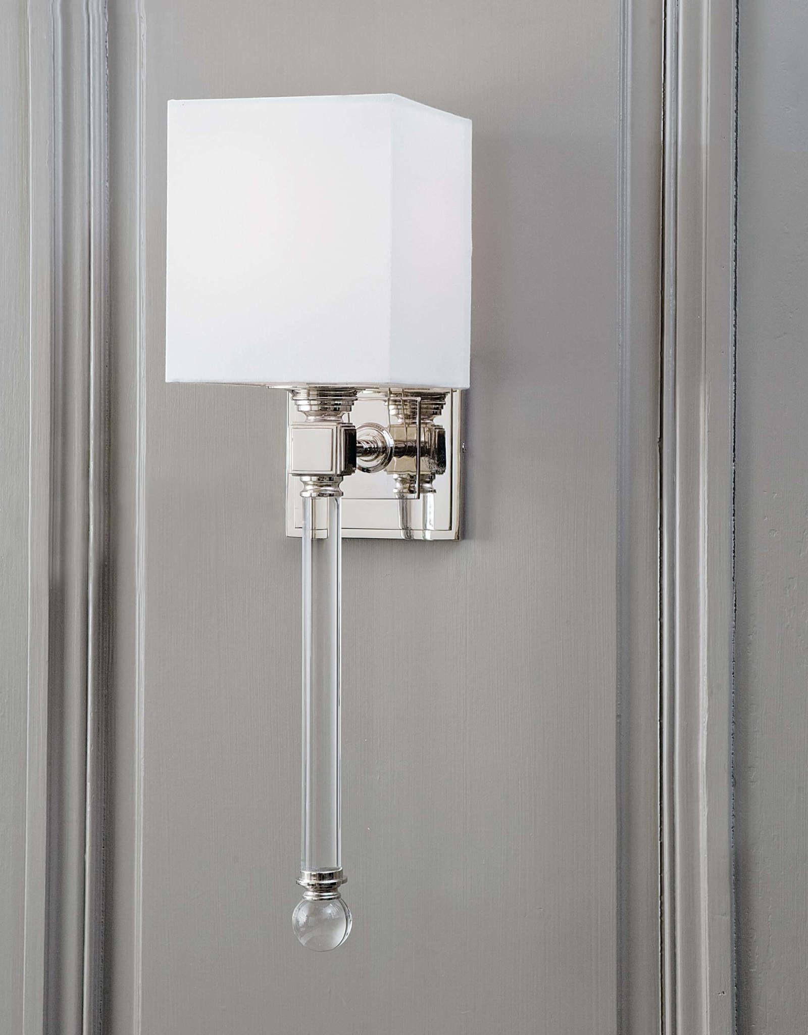 Regina Andrew Design Crystal Tail Sconce (Polished Nickel)