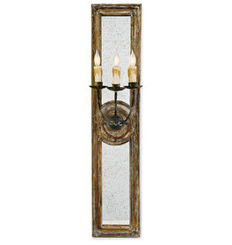Regina Andrew Design Three Arm Mirror Panel Sconce Small