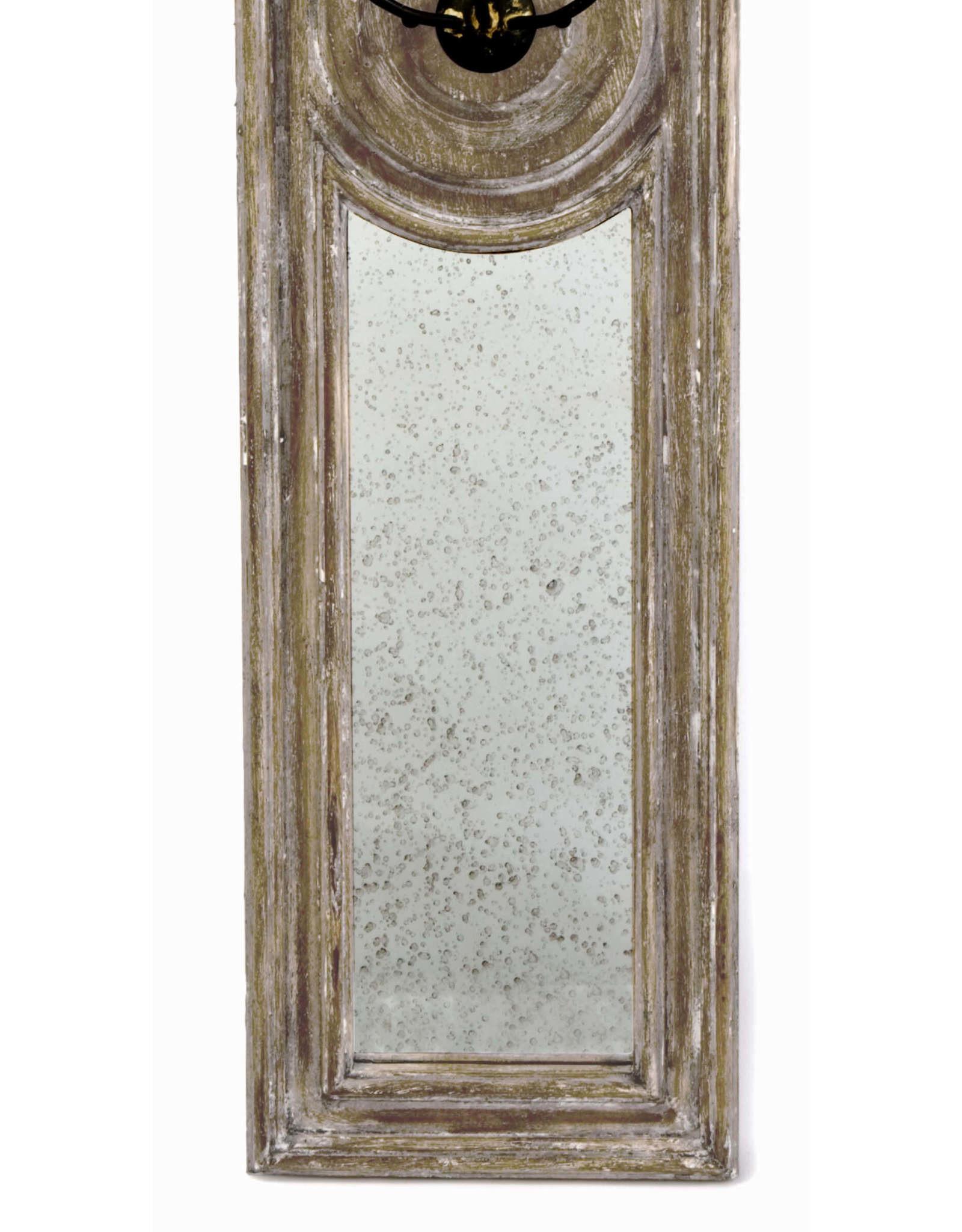 Regina Andrew Design Three Arm Mirror Panel Sconce Large