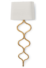 Regina Andrew Design Sinuous Sconce (Gold Leaf)