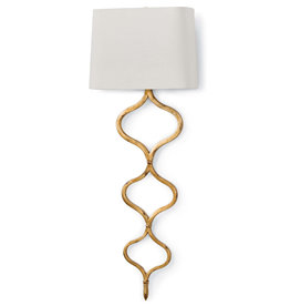 Regina Andrew Design Sinuous Sconce (Gold Leaf)