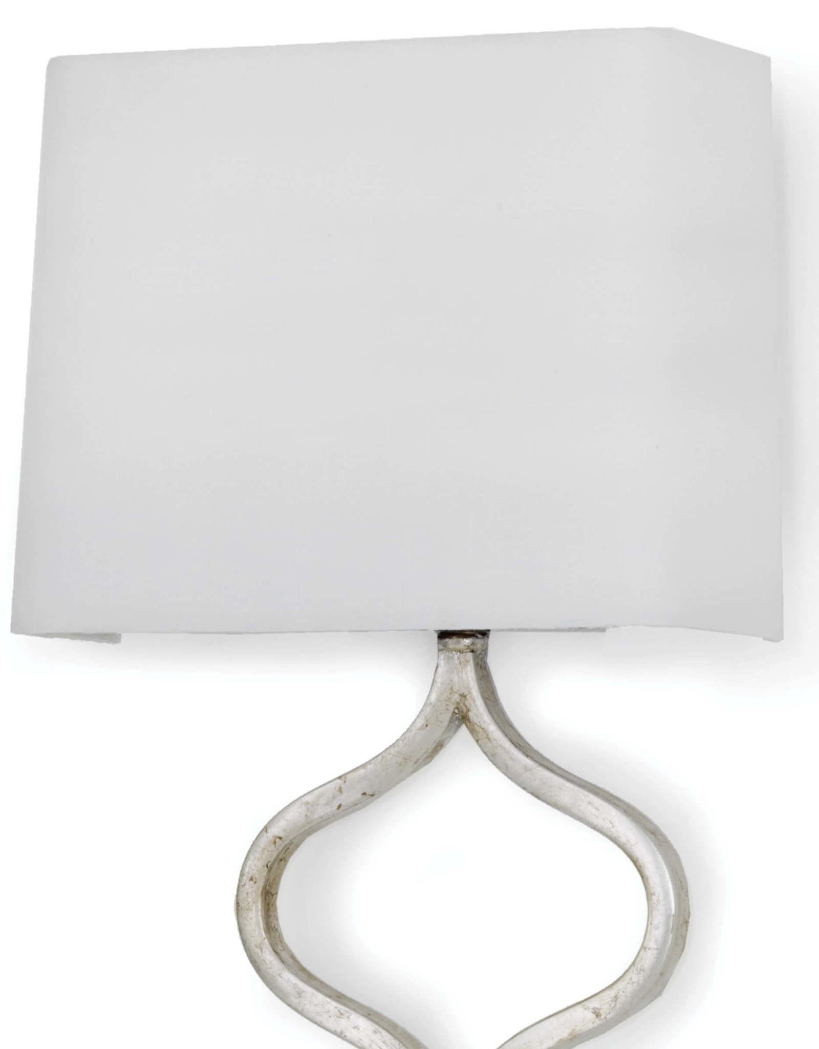 Regina Andrew Design Sinuous Sconce (Silver Leaf)