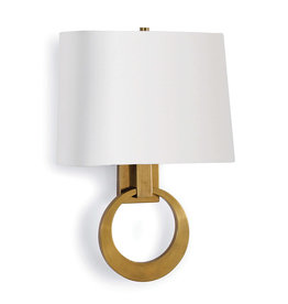 Regina Andrew Design Engagement Sconce (Natural Brass)