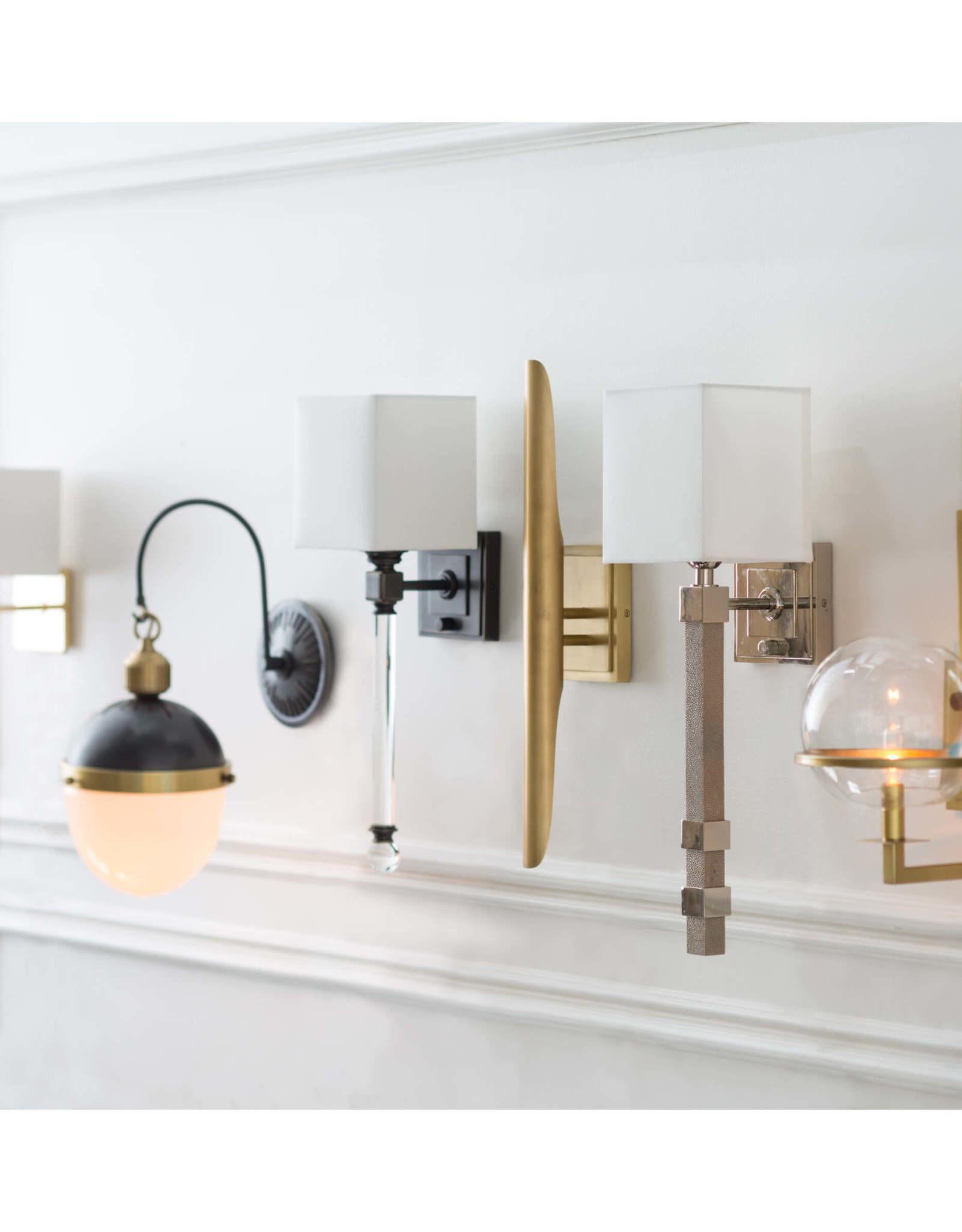Regina Andrew Design Metro Sconce (Ivory Grey Shagreen)
