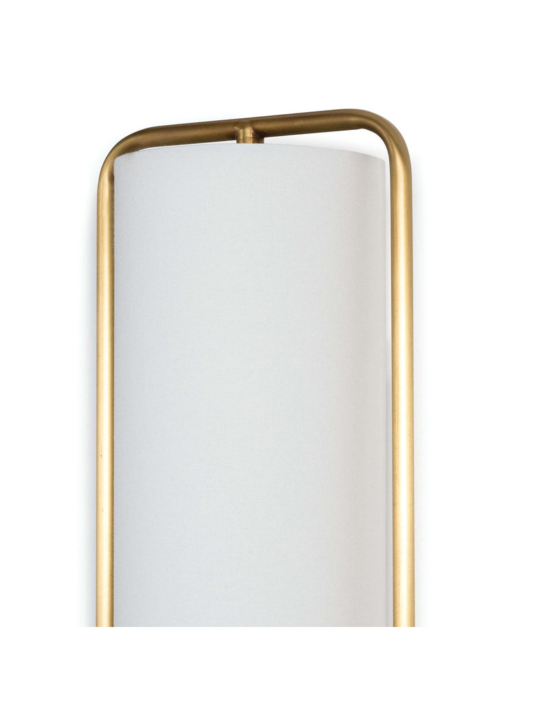 Regina Andrew Design Geo Rectangle Sconce (Natural Brass)