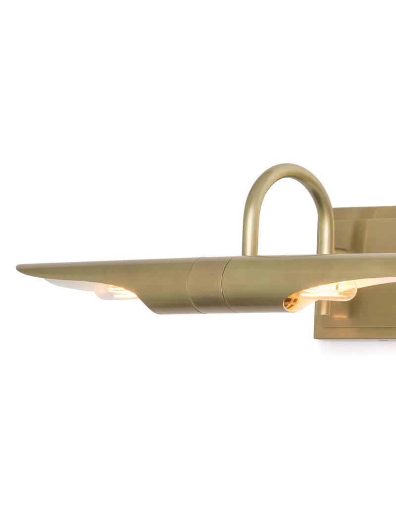 Regina Andrew Design Redford Picture Light Large (Natural Brass)