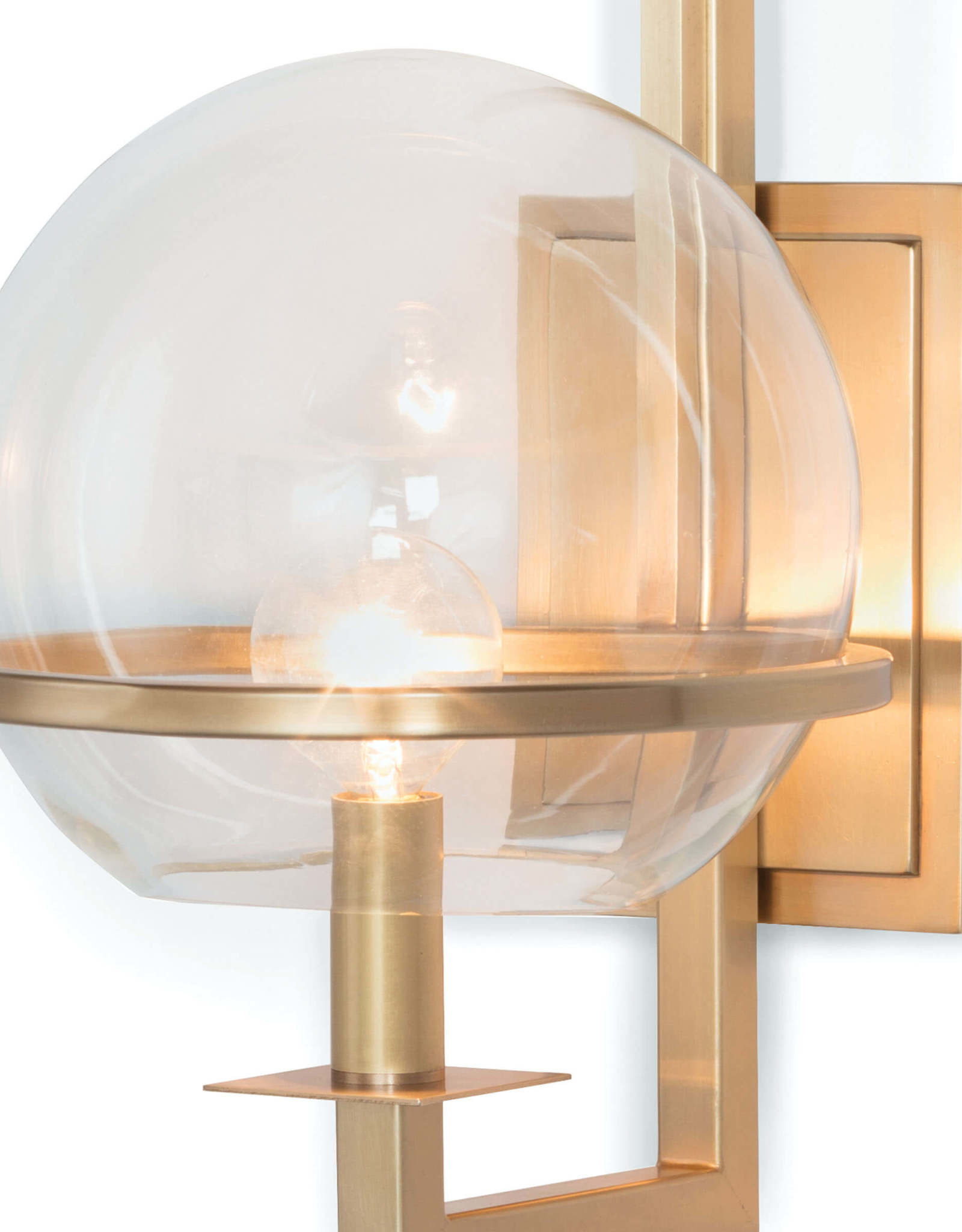 Regina Andrew Design Saturn Sconce (Natural Brass)